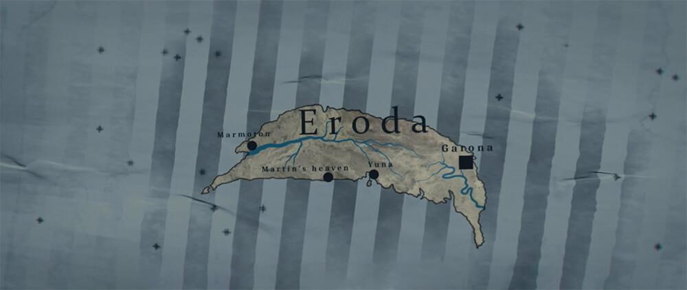 Eroda Map